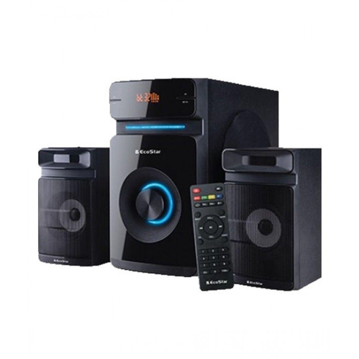 EcoStar (MS-X110) Mini Hi-Fi Speaker System