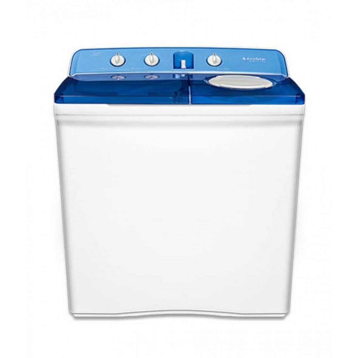 EcoStar WM-12-500 12KG Washing Machine (Semi Automatic)