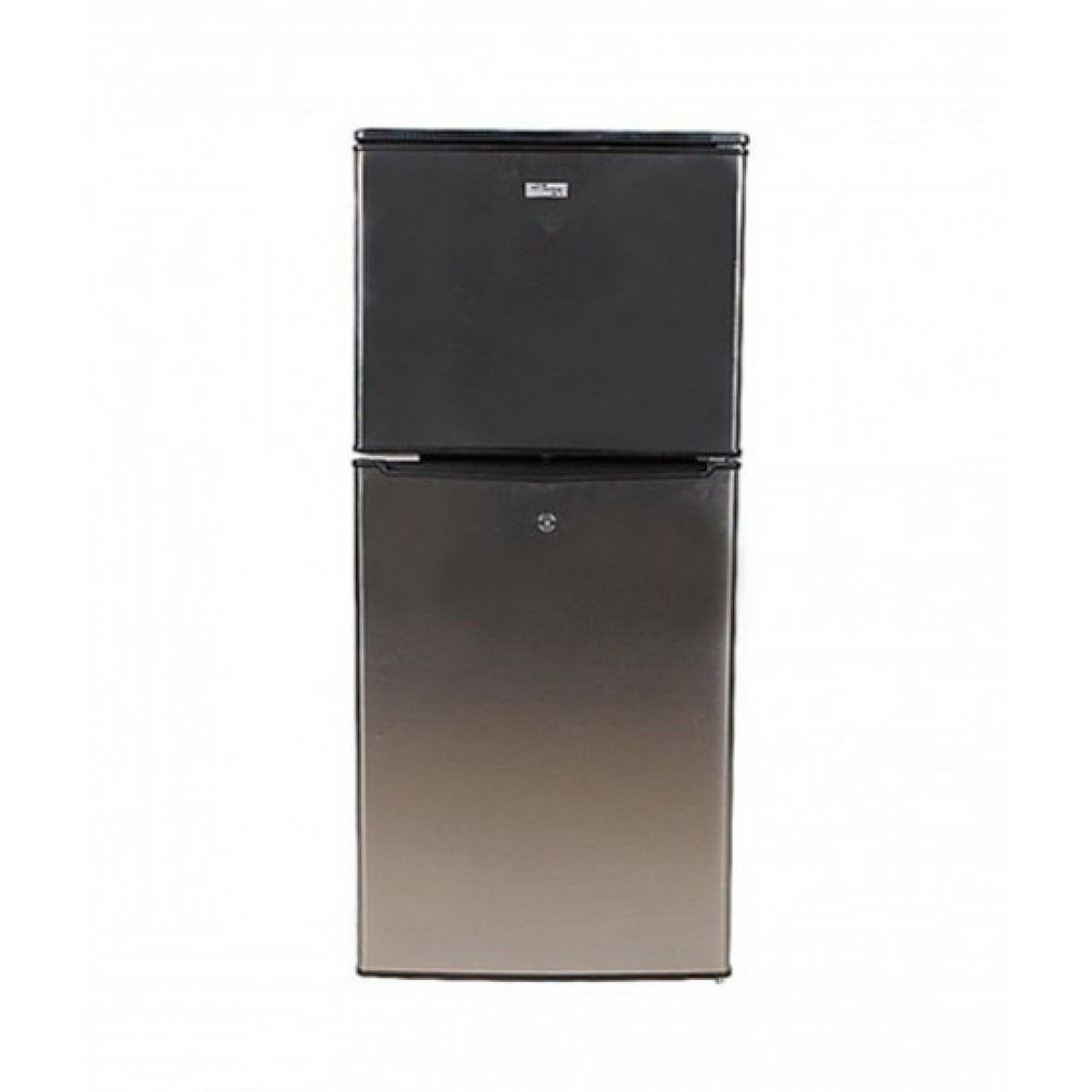 Gaba National (GNR-188-SS) Double Door Refrigerator