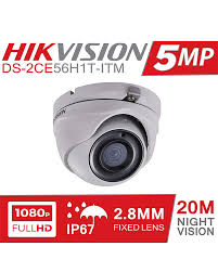 HIKVISION 5MP 1080p Full HD Dome CCTV Network Camera