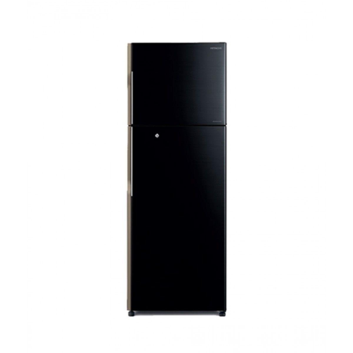 Hitachi (R-H270P4PBK) Freezer-on-Top 10 cu ft Refrigerator