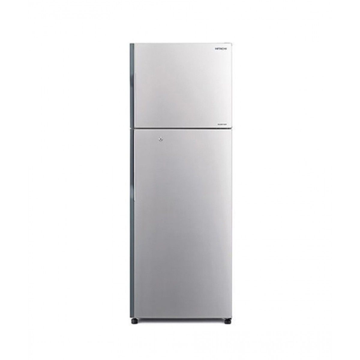 Hitachi (R-H350P4PBK) Freezer-on-Top 11 cu ft Refrigerator Silver