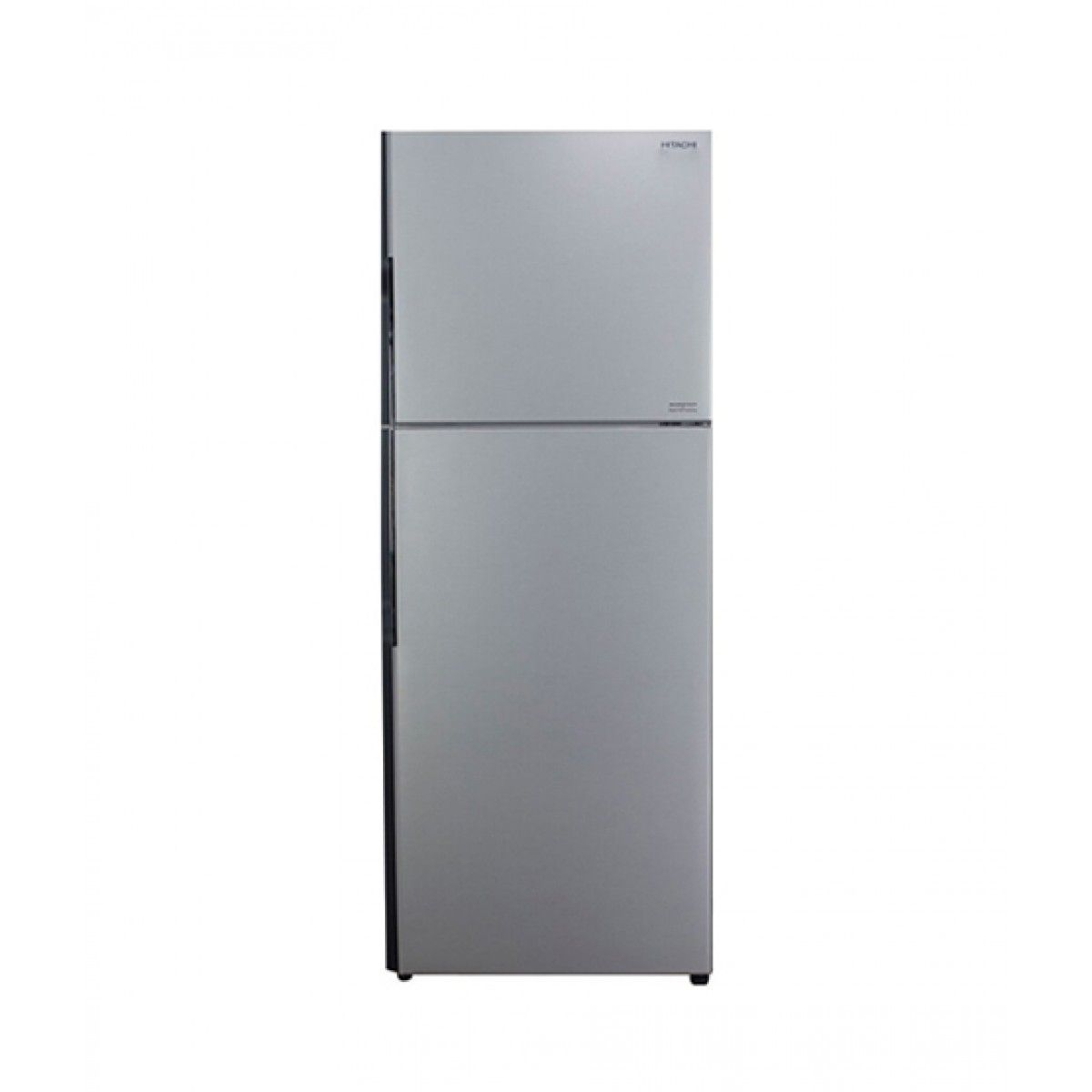 Hitachi (R-V420P3PB) Freezer-on-Top 13 cu ft Refrigerator Silver