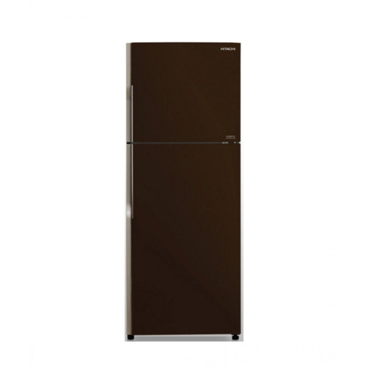 Hitachi (R-VG490P3PB) Freezer-on-Top 16 cu ft Refrigerator Brown
