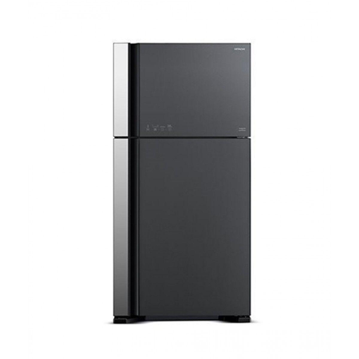 Hitachi (R-VG630P3PB) Freezer-on-Top 20 cu ft Refrigerator