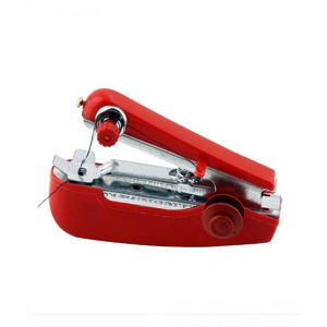 Mini Manual Sewing Machine Red (CS-101B)