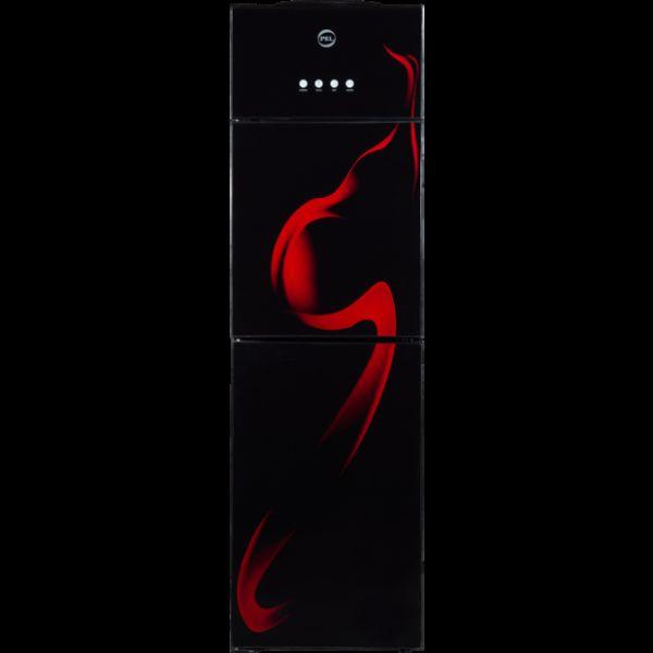 PEL Water Dispensers  PWD-115 Glass Door Red Blaze
