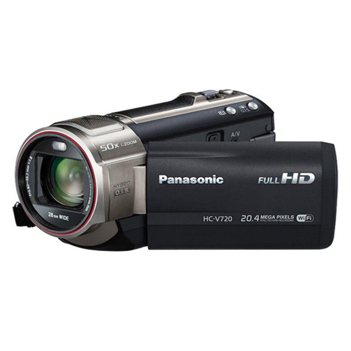 Panasonic Live Streaming HD Camcorder HC-V720