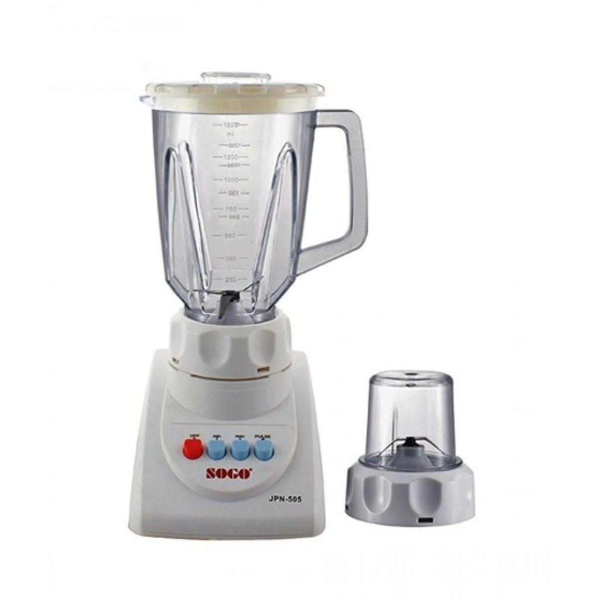Sogo JPN-505 2 In 1 Juicer Blender