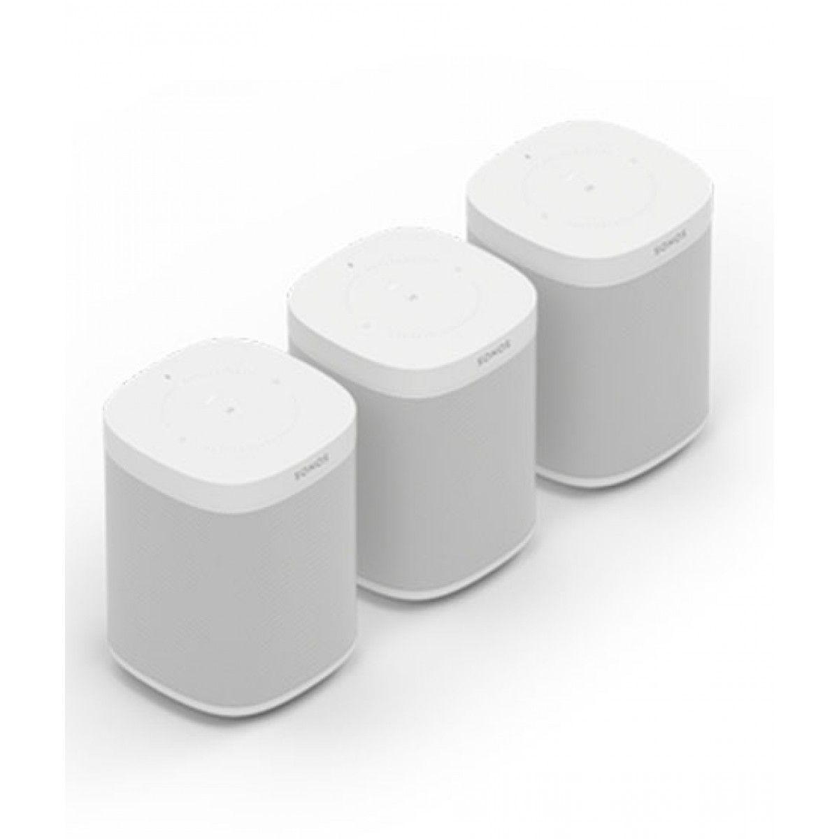 Sonos One Wireless Smart Speaker Set Of 3