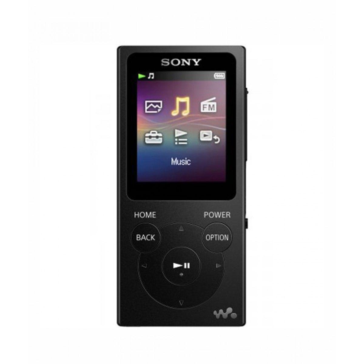 Sony 8GB Walkman Digital Music Player Black NWZ-E394