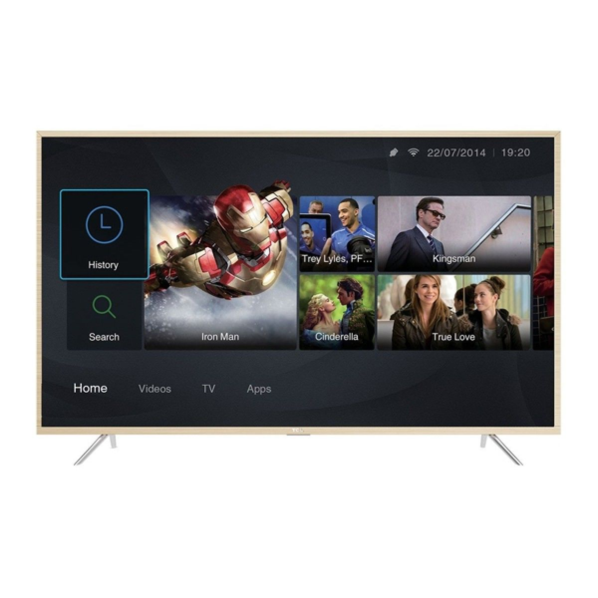 "TCL P8 43"" 4K UHD Android LED TV"