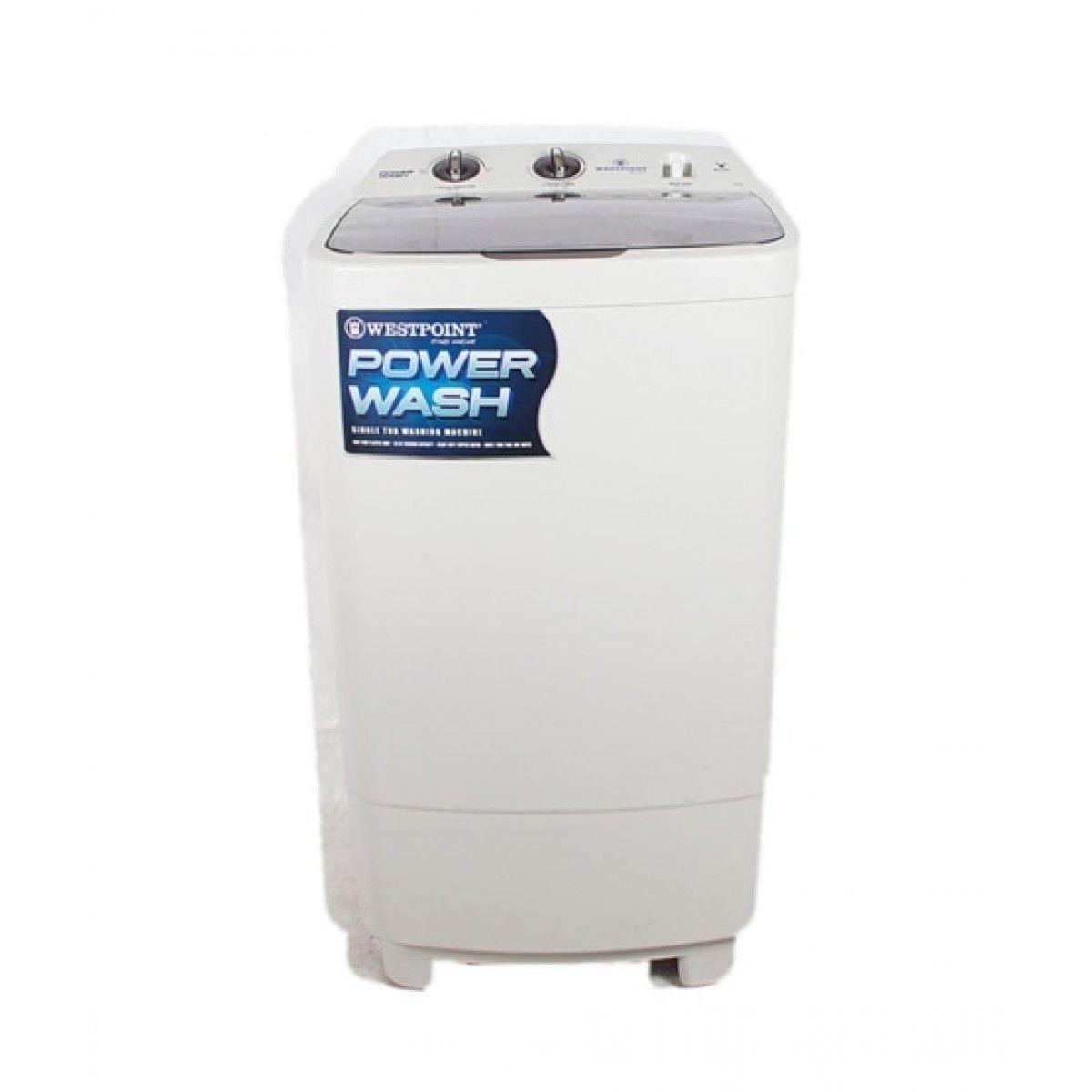 Westpoint (WF-1017-T) Single Tub Transparent Cover 10KG  Washing Machine