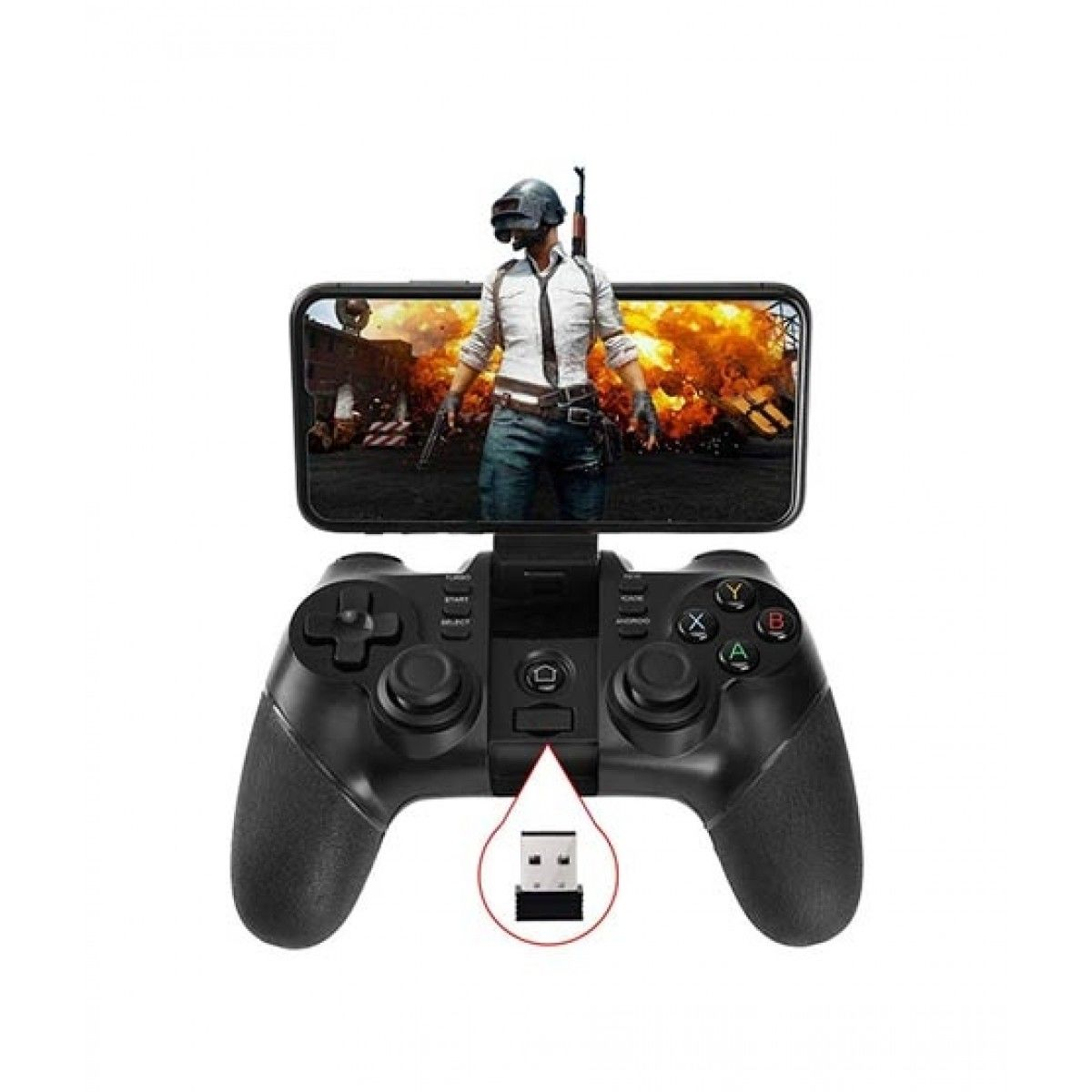 Wireless Rechargeable Gamepad Controller