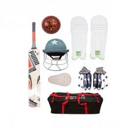 Complete Cricket Kit For 9-14 Year Kids Pack of 8