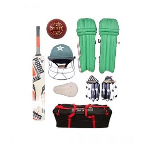 Complete Cricket Kit For 5-9 Year Kids Pack of 7