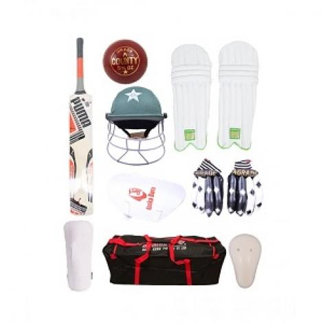 Complete Cricket Kit Pack of 9