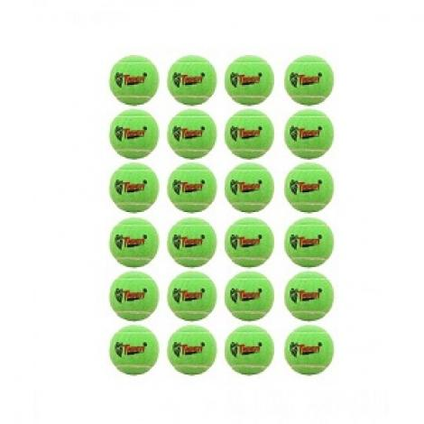 Tennis Ball For Cricket & Tennis Green Pack Of 24