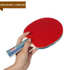 Double Fish 3A Pimples Long Handle Table Tennis Racket