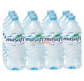 Masafi Pure water bottle 1.5 liter 1x12 carton