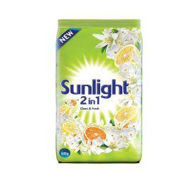 Sunlight Detergent Powder Green (500GM)