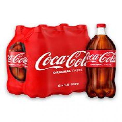 COKE 1.5 L PACK OF 6
