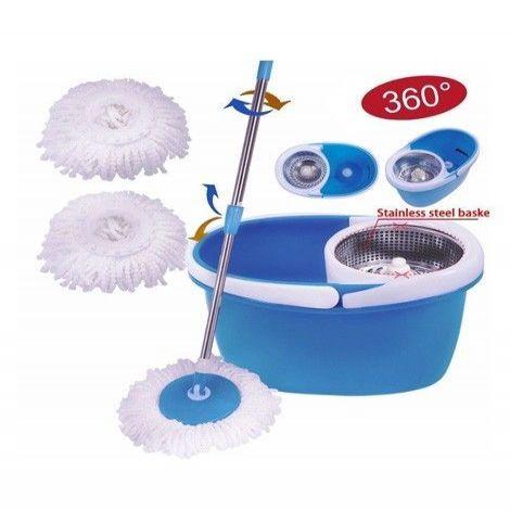 Magic Spin Mop 360 Steel Sieve Blue