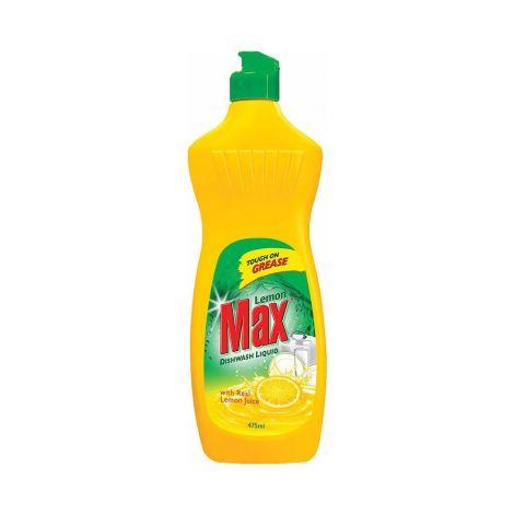 Max Liquid Lemon Dishwash 475 ML