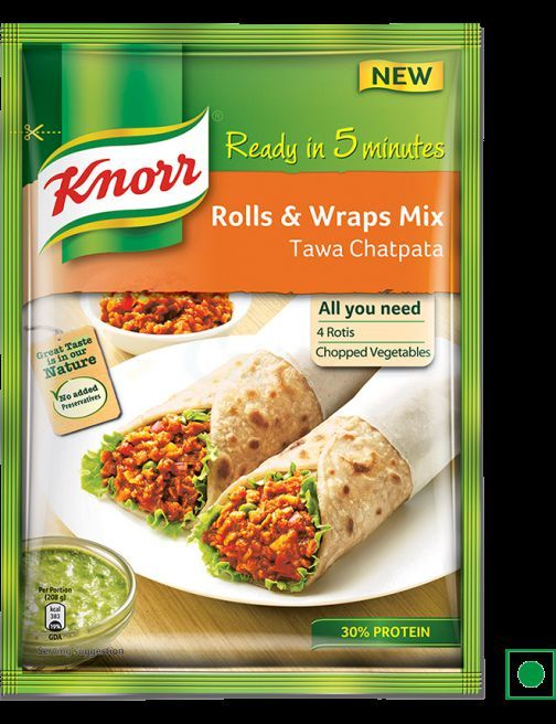 Knorr Chicken Paratha Mix 60gm
