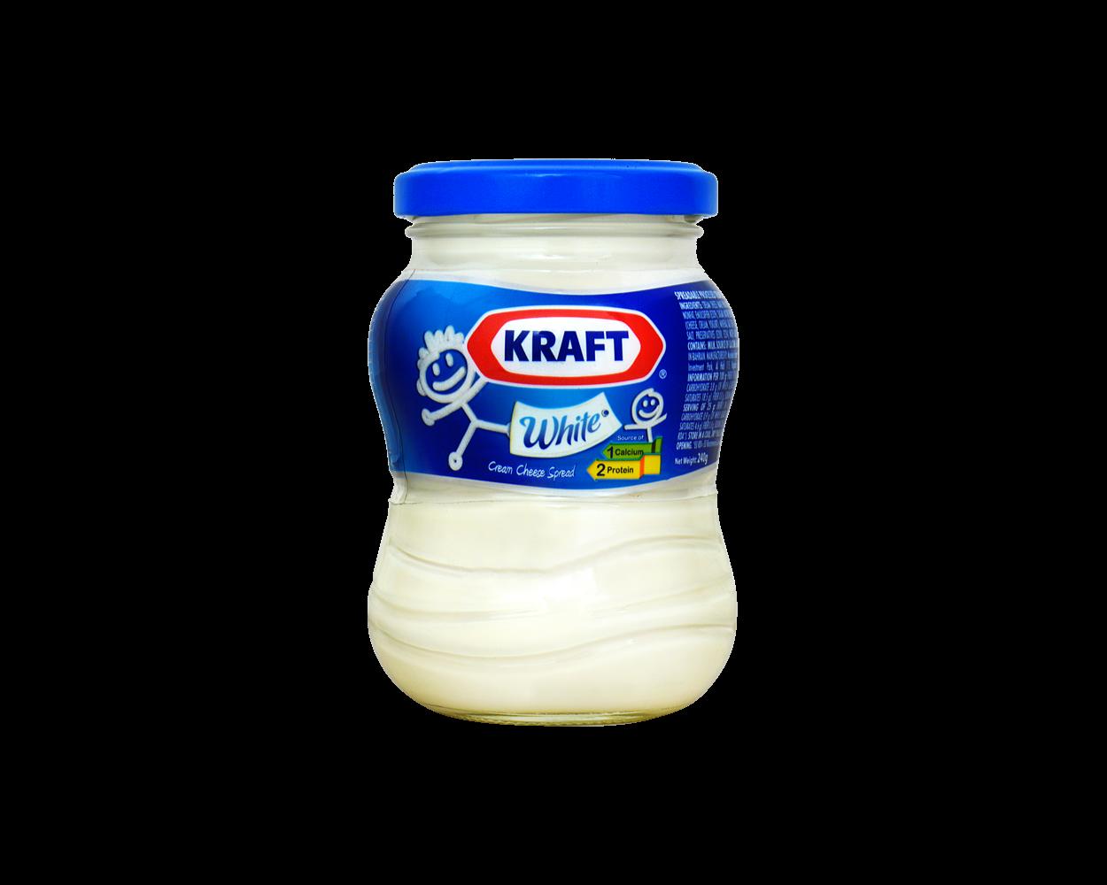 Kraft White Cream Cheese Spread 240g