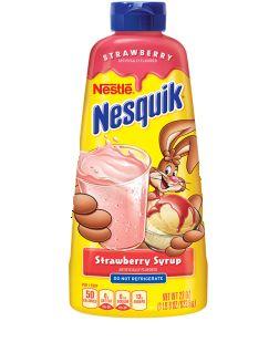 Nestle Nesquik Strawberry Syrup 625gm