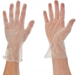 United 50 Pair Disposable Vinyl Gloves