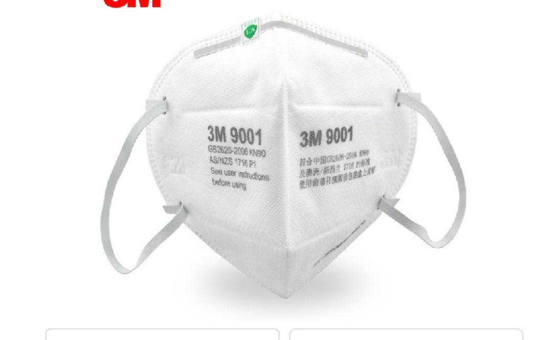 3M Coronavirus Protection Face Masks 9001