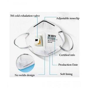 3M corona virus safety masks 9501v+