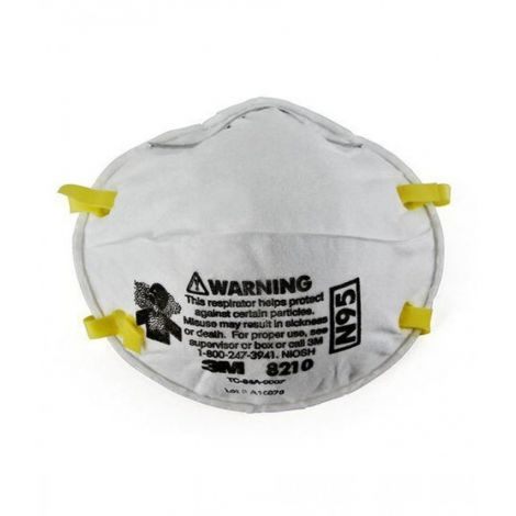 3M Particulate Respirator N95 Safe Guard Mask (8210CN)