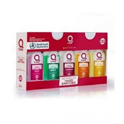 Limelite Care Q Care Advance Hand Sanitizer - Pack Of 5
