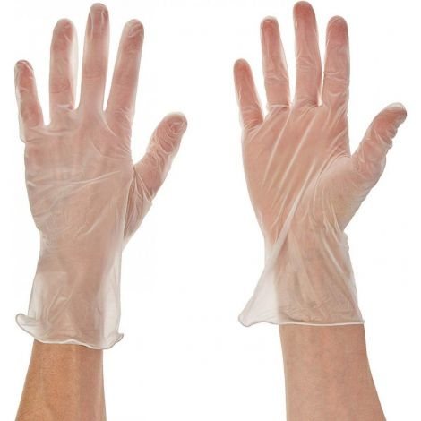 United 20 Pair Disposable Vinyl Gloves