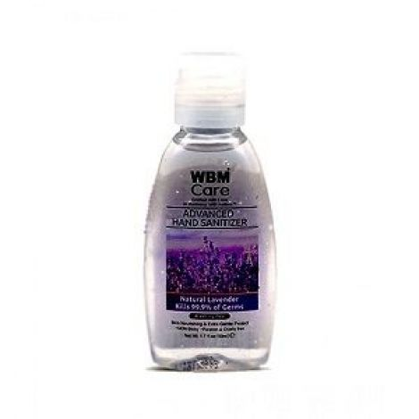WBM Care Hand Sanitizer Natural Lavender 50ml