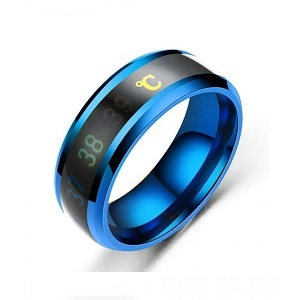 Fabulous Intelligent Thermometer Ring